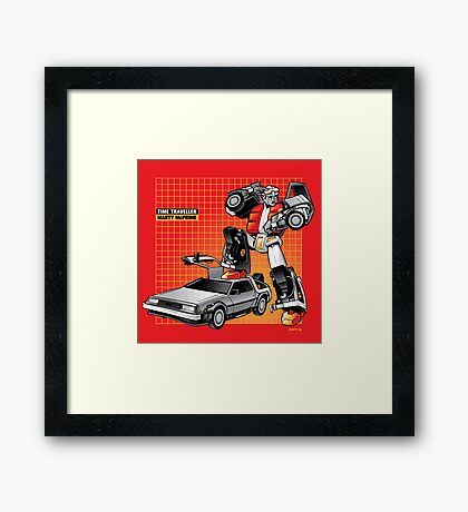 Marty McPrime (Print Version) Framed Print