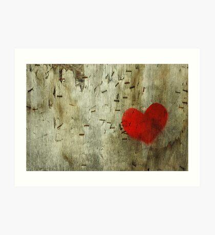 Heart Surgery, Nottingham, UK Art Print