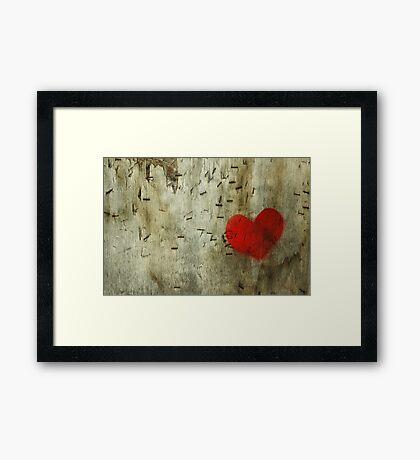 Heart Surgery, Nottingham, UK Framed Print