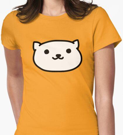 Neko Atsume  Womens Fitted T-Shirt