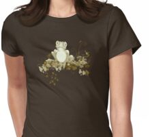retro frog  Womens Fitted T-Shirt