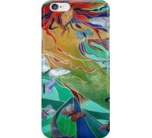 Mermaid and Butterflies iPhone Case/Skin