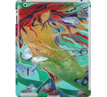 Mermaid and Butterflies iPad Case/Skin
