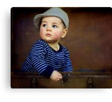 """ Parker , 7 months old "" Canvas Print"