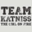 Team Katniss [Black] by Jessica King