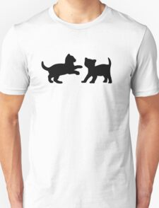Kittens Playing Unisex T-Shirt