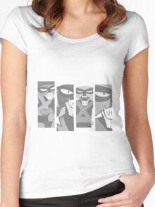 BRAK FLAG Women's Fitted Scoop T-Shirt