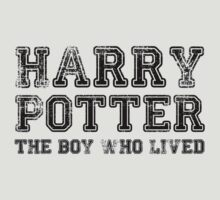 Harry Potter: The Boy Who Lived [Black] by Jessica Morgan