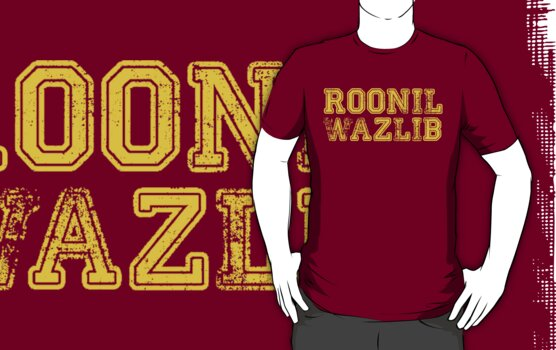 Roonil Wazlib by Jessica Morgan
