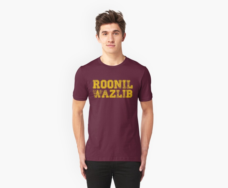 Roonil Wazlib by Jessica Morgan