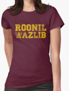Roonil Wazlib Womens Fitted T-Shirt