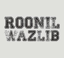Roonil Wazlib [Black] by Jessica Morgan