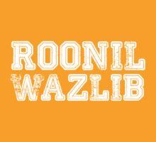 Roonil Wazlib [White] by Jessica Morgan