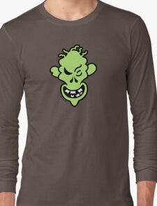 Naughty Halloween Zombie Long Sleeve T-Shirt