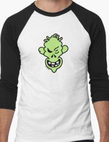 Naughty Halloween Zombie Men's Baseball ¾ T-Shirt