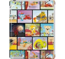 Bunyip Tree Collage iPad Case/Skin