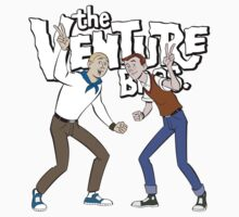 The Venture Bros. Hand and Dean Venture American Anime Tv Series Logo by LOVELYART