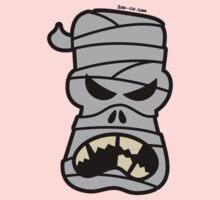 Angry Halloween Mummy One Piece - Long Sleeve