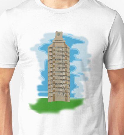 spray can tower block  Unisex T-Shirt