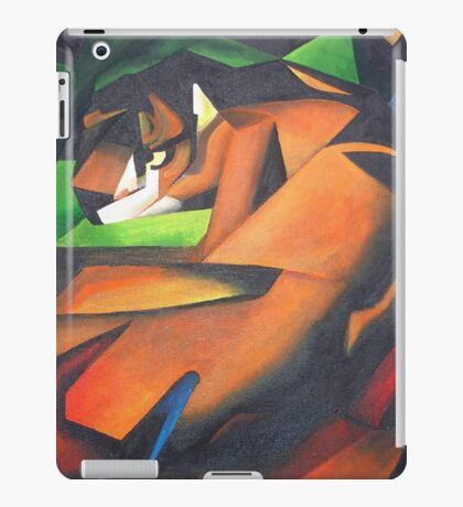 Tiger After Franz Marc iPad Case/Skin