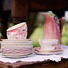 Fine Vintage Tea  by Carol Knudsen