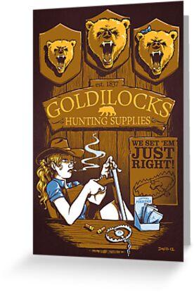 Goldilocks Hunting Supplies (Print Version) by Nathan Davis