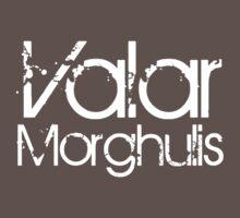 Valar Morgulis [White] by Jessica Morgan