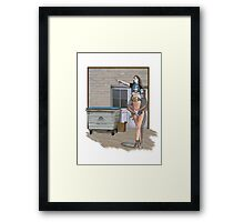 going to town Framed Print