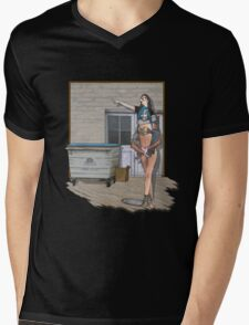 going to town Mens V-Neck T-Shirt