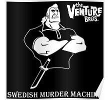 Brock Samson Swedish Murder Machine The Venture Bros. Anime Tv Series Poster