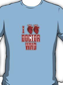 I Heart Heart Doctor Who (v3) T-Shirt