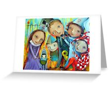 Crown Prince Greeting Card