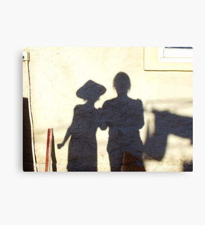 Shadow Painting Canvas Print