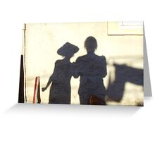 Shadow Painting Greeting Card
