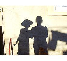 Shadow Painting Photographic Print