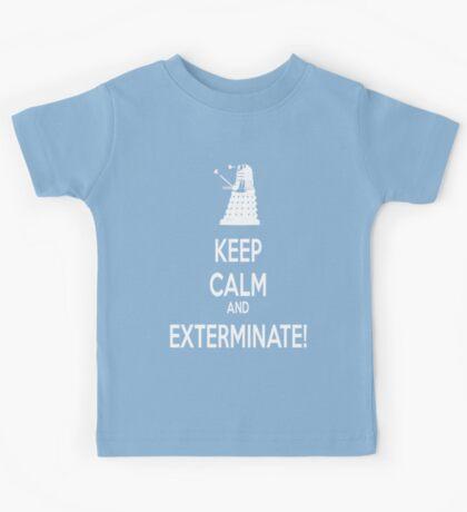 Keep Calm and Exterminate! Kids Tee