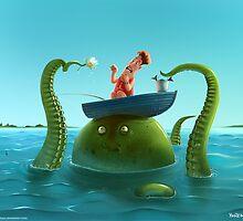 Double Fishing by Roman Shipunov