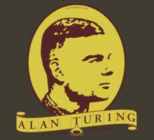 Alan Turing by tudi