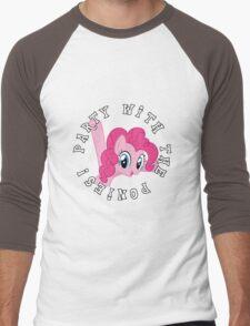 Pinkie Pie - Party Men's Baseball ¾ T-Shirt