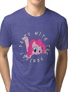 Pinkie Pie - Party Tri-blend T-Shirt