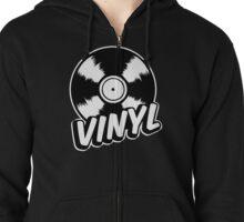Vinyl Zipped Hoodie