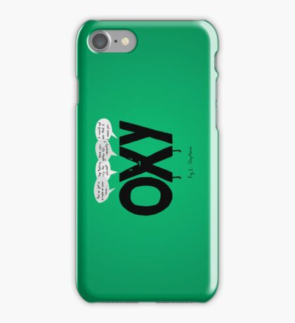 Oxy Moron iPhone Case/Skin