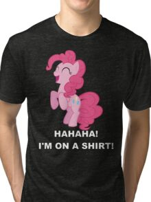 Pinkie Pie - Laughter Tri-blend T-Shirt