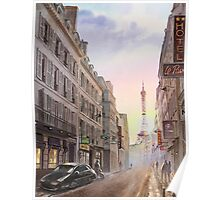 Evening in Paris Poster
