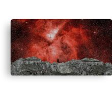Pack Ice Asteroid Flyby at Eta Cerinae Canvas Print