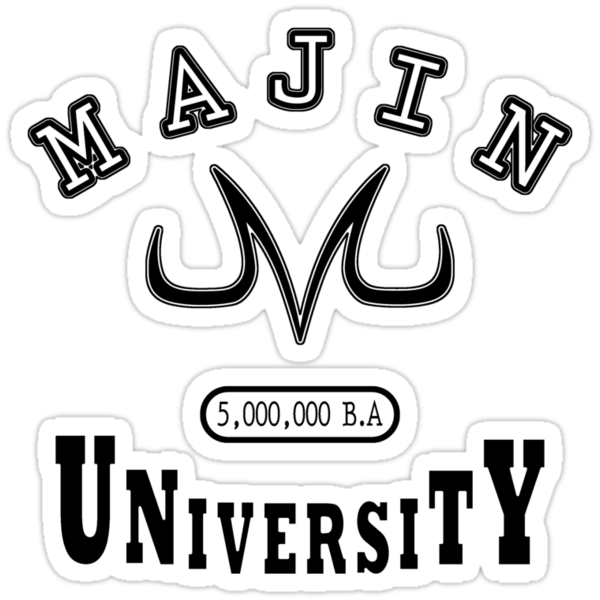 Majin University (black) by karlangas