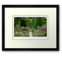 Hidcote Gardens, Gloucestershire Framed Print