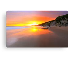 """The Rising Sun"" Canvas Print"