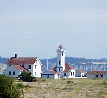 Point Wilson Light by Loisb