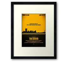 "Movie Poster - ""TAXI DRIVER"" Framed Print"